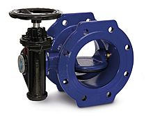 ROCO Double eccentric butterfly valve