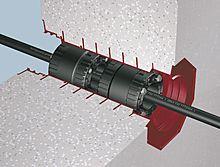 RDS evolution Mauerdurchführung DN 100, Länge 300 mm, dn 15-50 mm